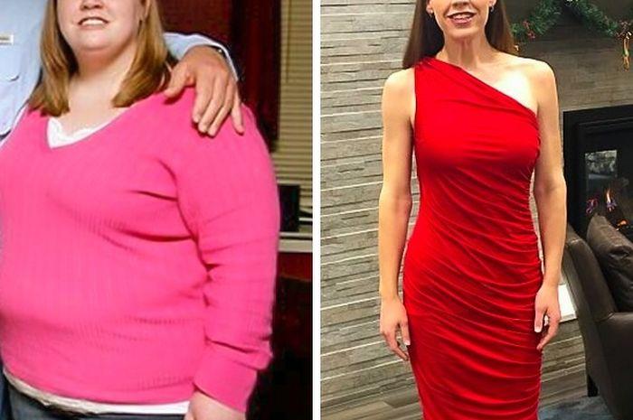 orang-orang yang sukses menurunkan berat badan mereka