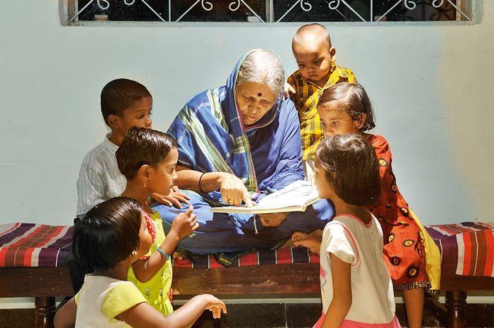 Sindhutai Sapkal ibu dari ribuan anak terlantar di India