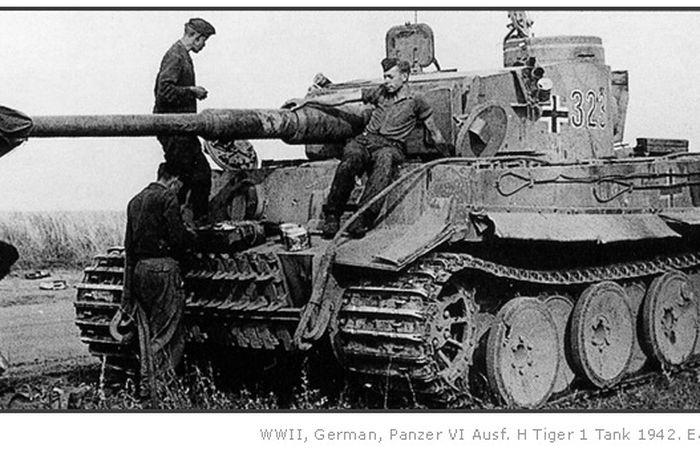 Tank Tiger Nazi Jerman yang menjadi cikal tank Lepoard