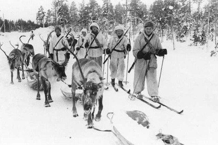 Para sniper Finlandia kerap bikin frustrasi Tentara Merah.