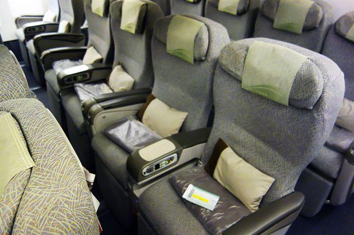 EVA Air Nomor Satu, Garuda Indonesia Nomor 6 Maskapai dengan Kabin Pesawat Terbersih di Dunia