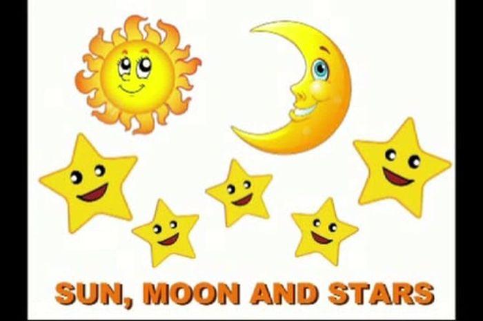 76 Gambar Bintang Bulan