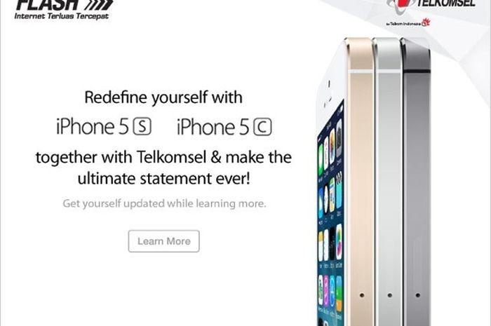 Telkomsel Menyebar Teaser iPhone 5s dan 5c Buat Para Pelanggannya 4e71574e2e