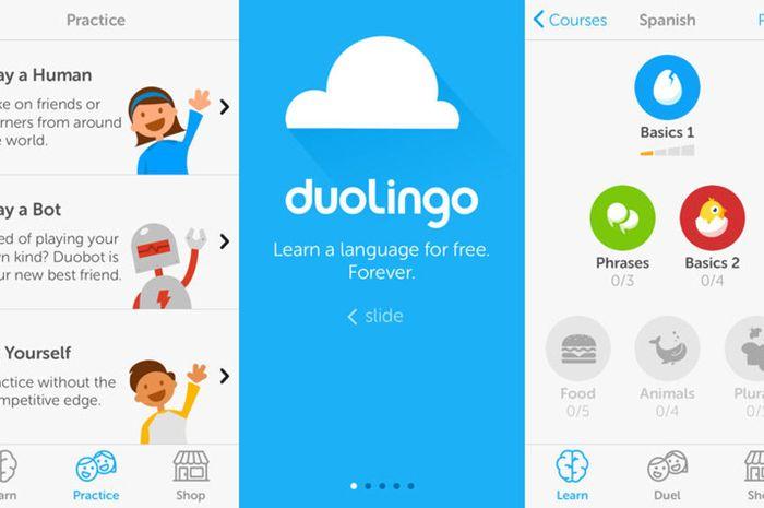 Aplikasi Duolinggo