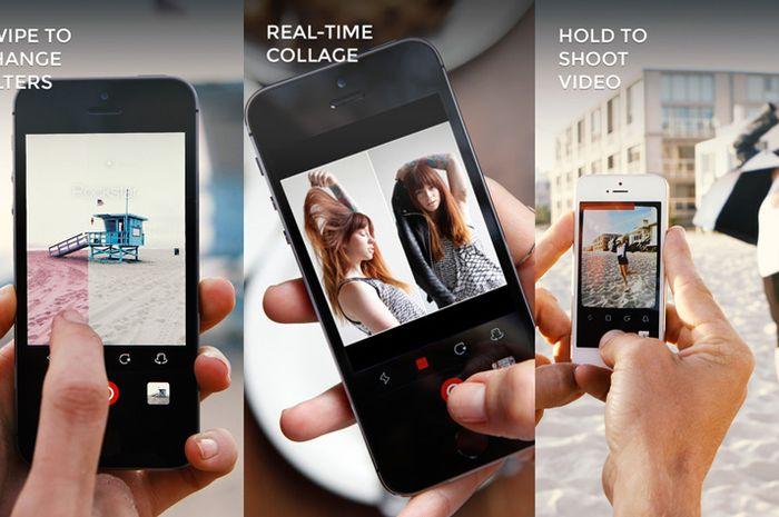 Aplikasi Fotografi Camu, Minimalis & Fitur Kirim Gambar Privat