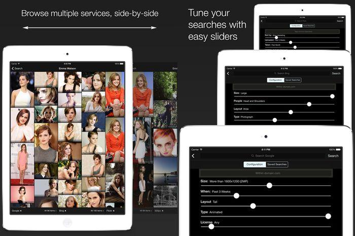 Review picTrove 2 pro: Cara Mudah Cari Gambar di iPad & iPhone