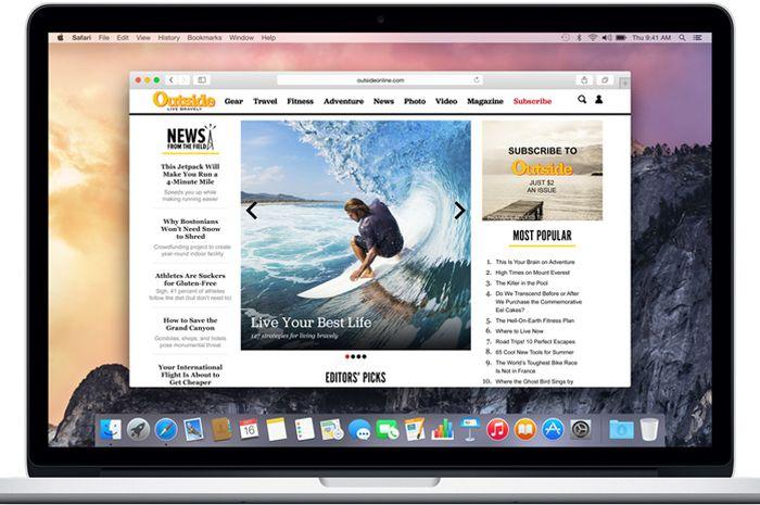 Cara Menampilkan URL Website Lengkap di Safari OS X Yosemite