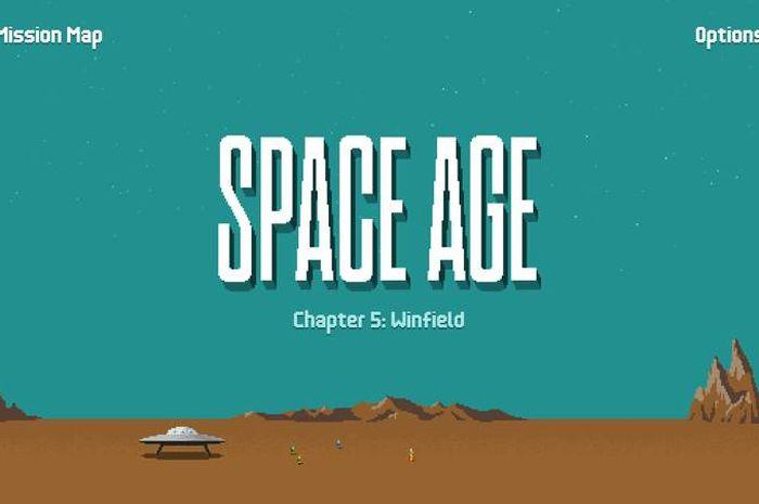 Review Space Age: Game Puzzle Petualangan Luar Angkasa, Grafis Klasik