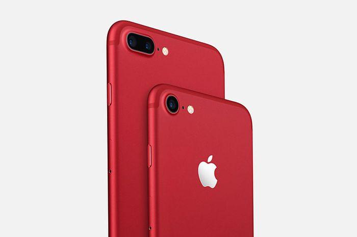 Belum Genap Setahun, Apple Berhenti Jual iPhone 7 dan iPhone 7 Plus (PRODUCT)RED