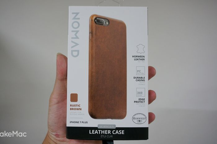 Nomad Leather Case, Melindungi iPhone dengan Tampilan Mewah