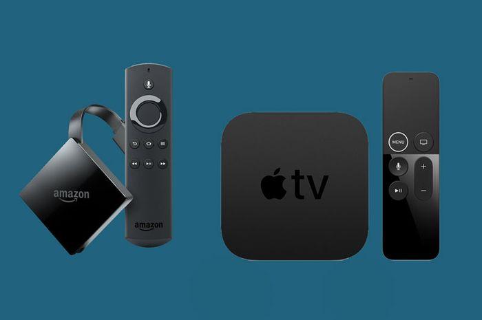 Perbandingan Spesifikasi dan Harga Apple TV 4K dan Amazon Fire TV 4K