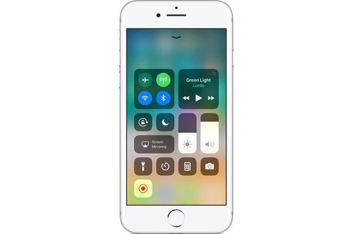 Tutorial Screen Recording di iOS 11