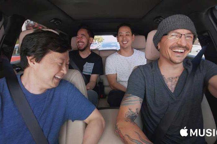 Carpool Karaoke Bersama Chester Bennington Segera Hadir Di Facebook