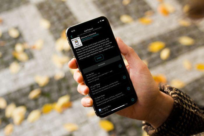 Update Overcast: Black Theme dan Mendukung iPhone X