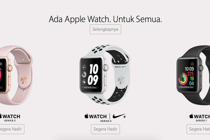 Apple Watch Series 3 Resmi Masuk Indonesia Bersama iPhone X, iPhone 8 dan iPhone 8 Plus