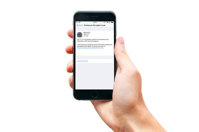 Apple Merilis Update iOS 11.2.2 untuk Pengguna iPhone, iPad dan iPod Touch