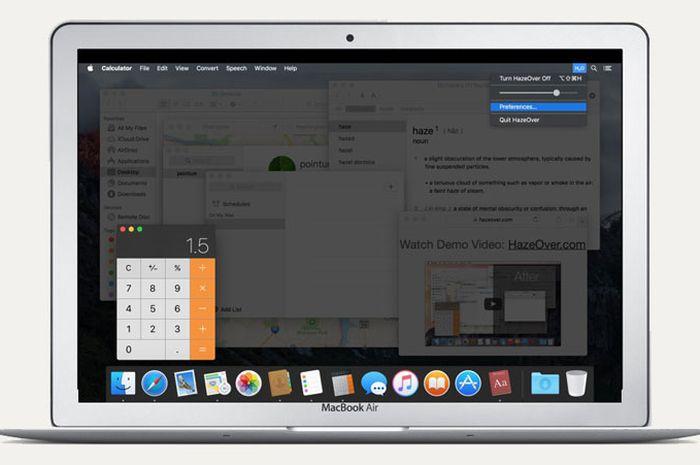 Review HazeOver, Fokus di Jendela Aplikasi dan Kerja Lebih Produktif