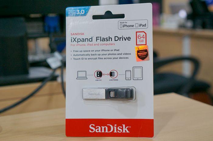 SanDisk iXpand Drive, Cadangkan Data Kapan Saja dengan Cepat