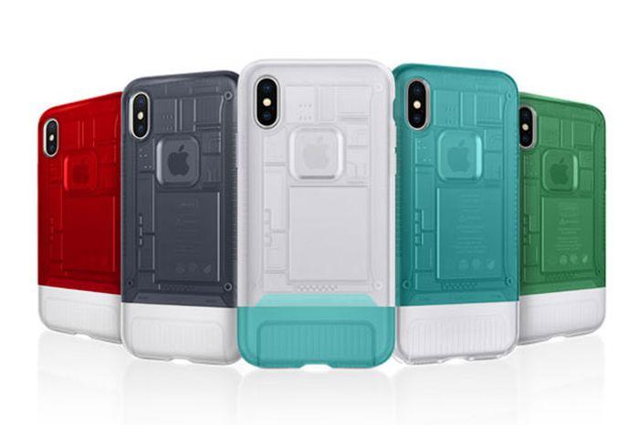 Nostalgia iMac G3 di iPhone X dengan Case Spigen C1