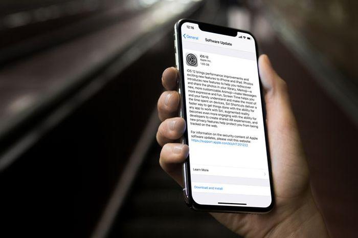 3 Cara Update ke iOS 12 di iPhone, iPad dan iPod
