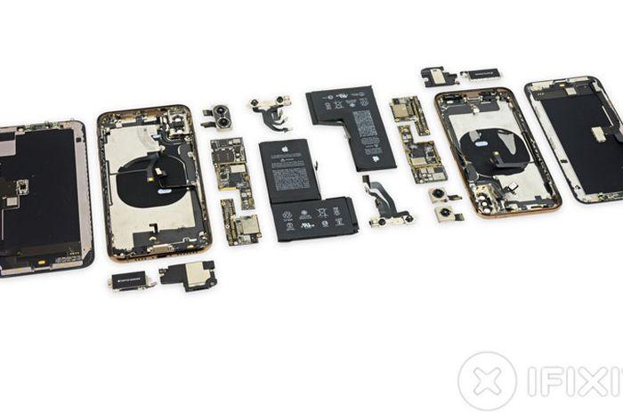 IFIXIT Bongkar iPhone Xs dan iPhone Xs Max, Apa Saja yang Berubah dari iPhone X?