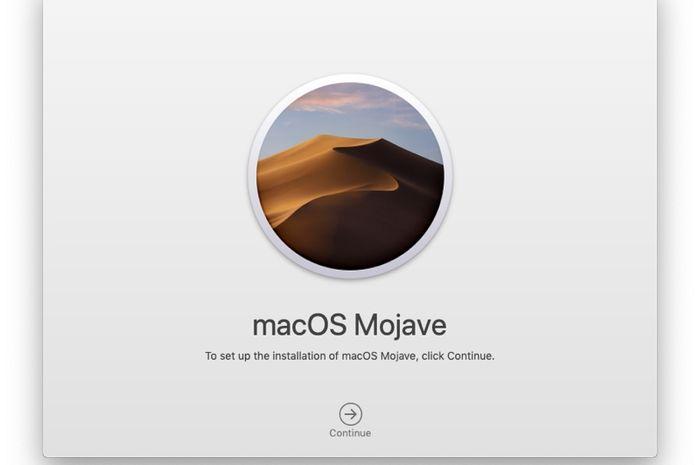 Cara Membuat Bootable Installer Mojave di USB & Hard Drive Eksternal