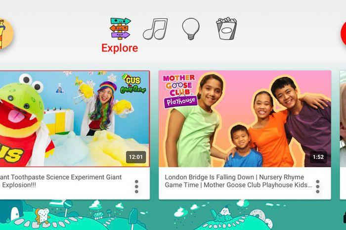 Aplikasi YouTube Kids Akhirnya Rilis untuk Pengguna Indonesia