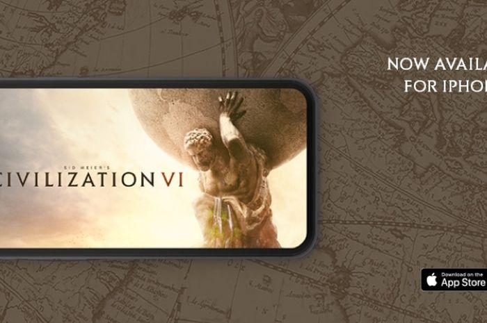 Civilization VI Kini Telah Hadir di iPhone