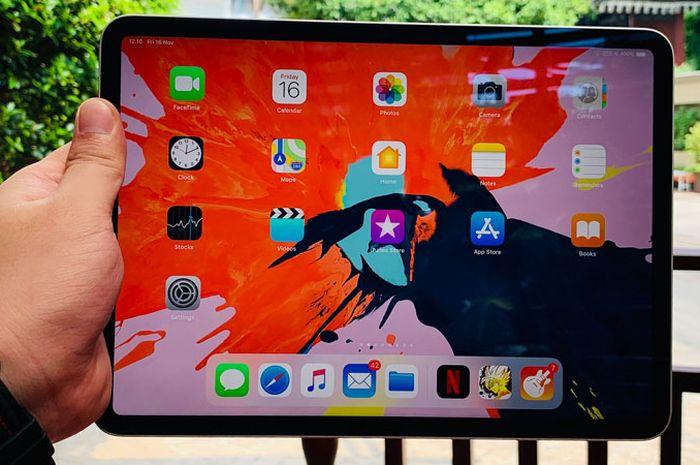 Cara Screenshot, Restart dan Force Restart di iPad Pro 2018