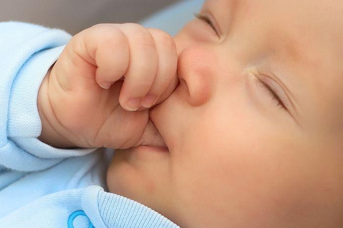 Hasil carian imej untuk kenapa bayi sering menghisap jari