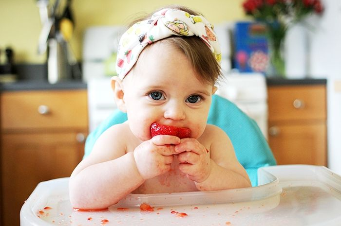Kapan strawberry boleh diberikan kepada bayi?