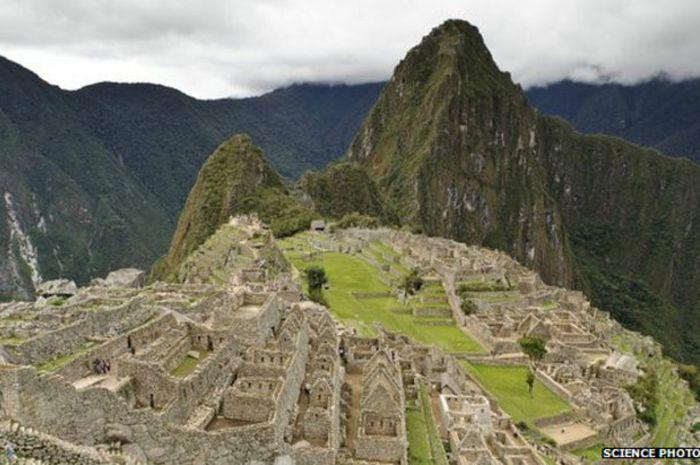 Para ahli sejarah mengatakan jalan di pengunungan Andes untuk jaga pasokan ke Machu Picchu.