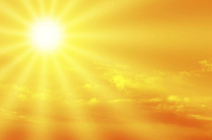Ilustrasi: Paparan sinar matahari.