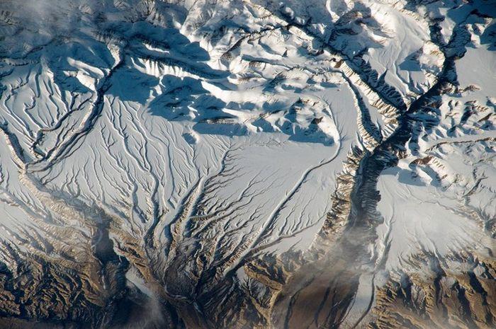 Bentang alam Himalaya.