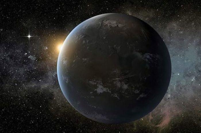 Ilustrasi exoplanet.