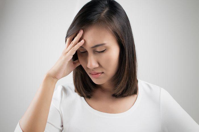 Ilustrasi migrain.