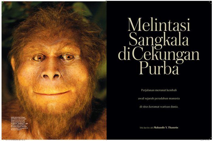 """Melintasi Sangkala di Cekungan Purba"", National Geographic Traveler, November 2013. Cerita tentang kawasan yang menautkan kita dan asal-usul manusia Jawa."