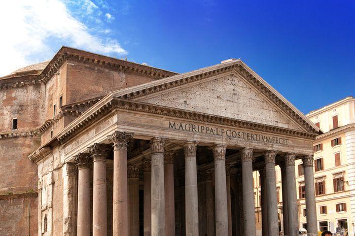 Bangunan era Romawi.