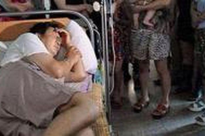 Seorang Pria Kehilangan Alat Kelamin Saat Tidur