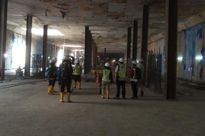 Wow Stasiun Bawah Tanah Mrt Jakarta Sudah Rampung 45 Persen Nova