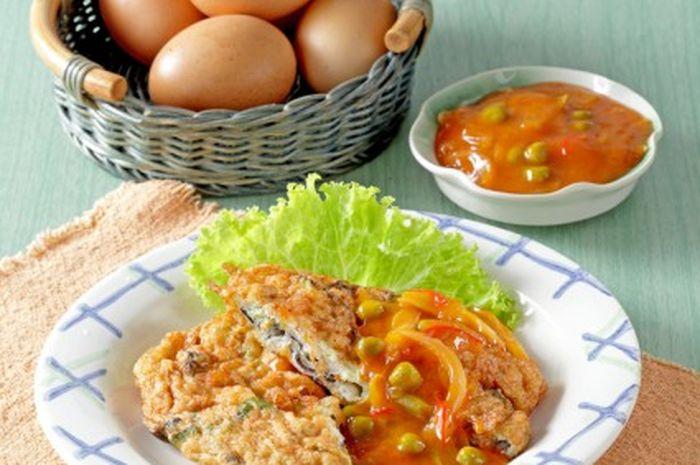 Resep Sukses Membuat Fuyunghai Ayam Jamur Sajiansedapgridid