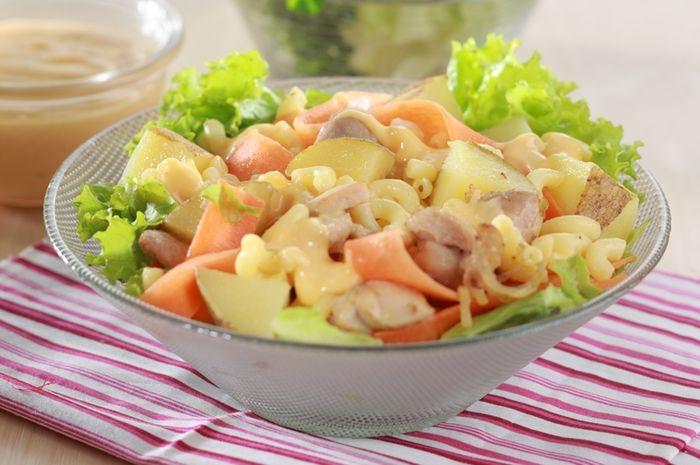 salad kentang makaroni