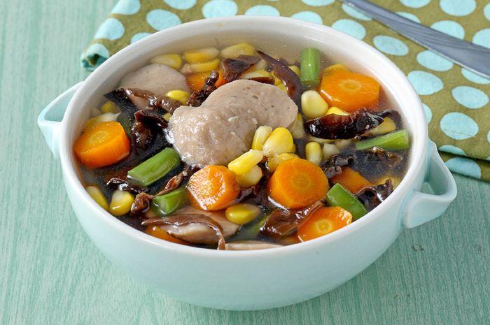 Hasil gambar untuk gambar sup jamur kuping