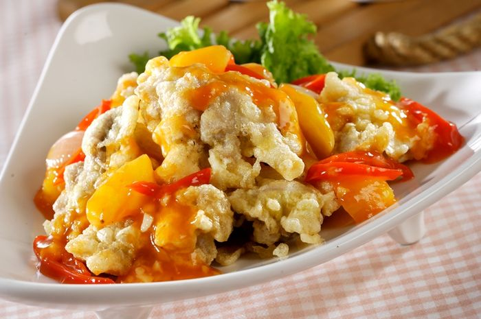 Cita Rasa Oriental Ayam Saus Asam Manis Ini Pasti Jadi Favorit Di Meja Makan Sajian Sedap