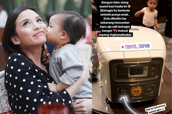 Liburan Ke Jepang, Chelsea Olivia Senang Bukan Main Dihadiahi Rice Cooker, Kenapa, Ya?