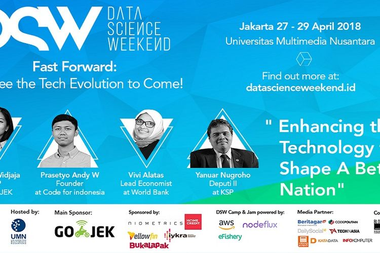 Data Science Weekend 2018 Akan Bahas Masa Depan Industri Data
