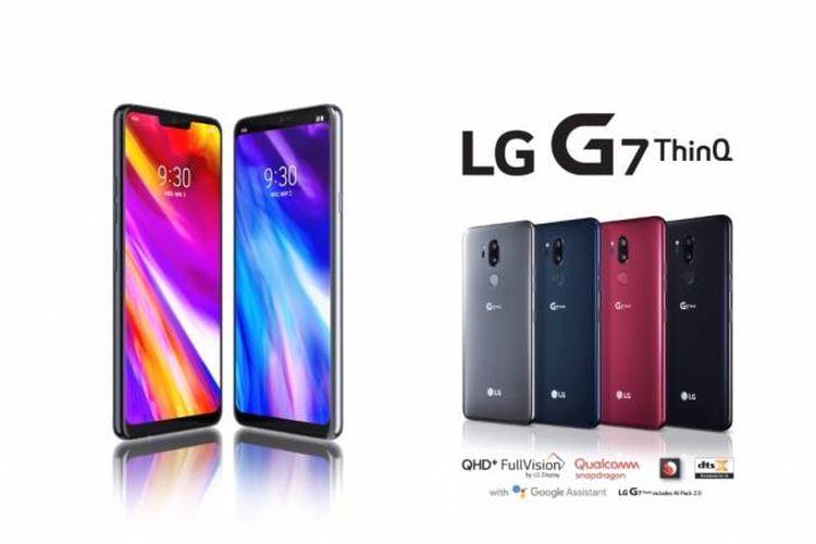 "LG G7 ThinQ Usung Desain ""Poni"", Fitur AI, dan Kamera Ganda"