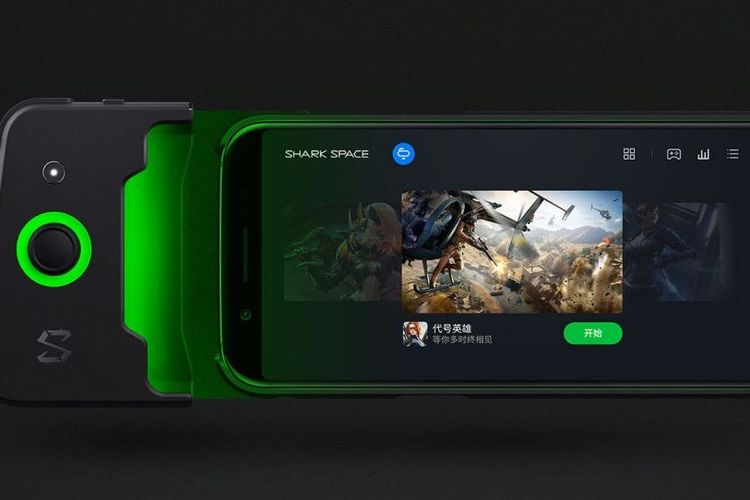 Mirip Nintendo Switch, Xiaomi Black Shark Punya GamePad