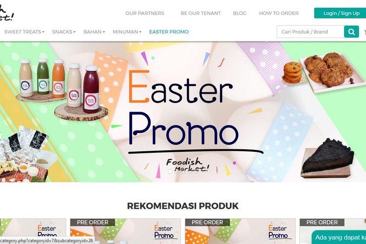 Foodish Market, Situs Jual Beli Online yang Cocok untuk Pehobi Masak