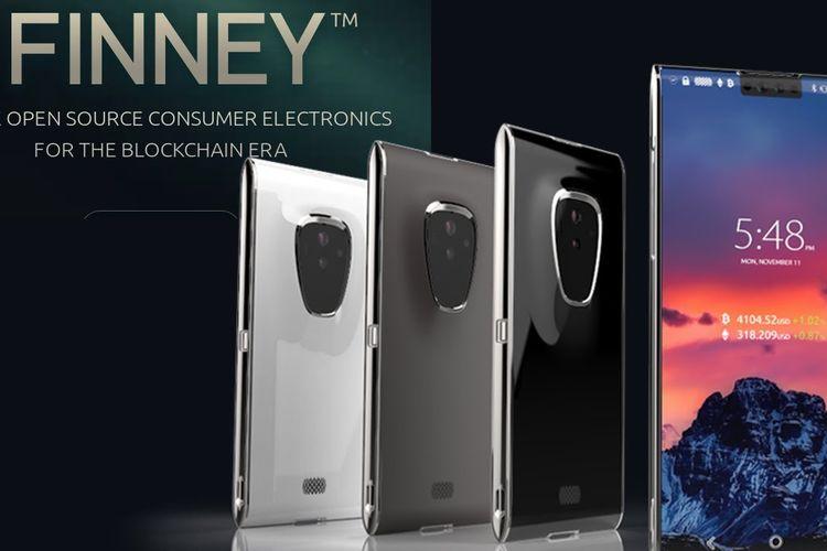 Finney, Smartphone Blockchain Pertama di Dunia